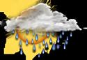 vanavond plaatselijke regenbuien